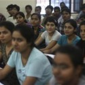 Students attend class at the Bansal Classes in Kota