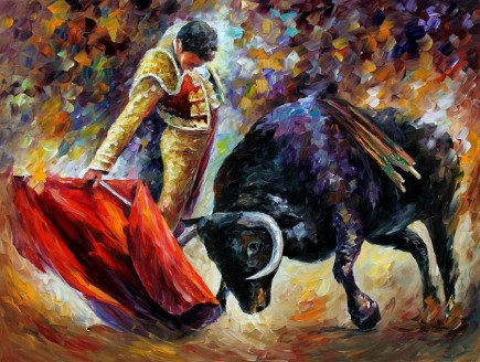 corrida___original_oil_painting_by_leonid_afremov_by_leonidafremov-d5103qo